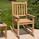 Joanne Teak Rocking Chair