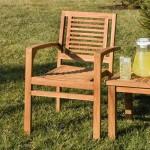 Landis Teak Arm Chair