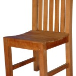 Teak Aquinah Chair without Arms