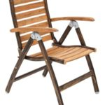 Maddox Teak Folding Chair