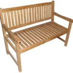 American Trading Company KT-28 Hawaii Commercial Grade Natural Teak Bench