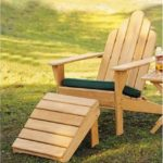 Grade-A Teak Wood Adirondack Chair With Footrest #WHAXACWF