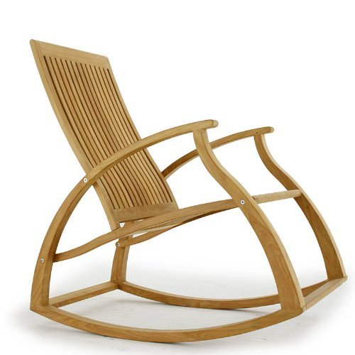 teak rocking chair : Roselawnlutheran