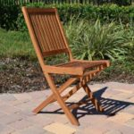 Teak side chair 2pc