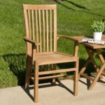 Balero Teak Arm Chair