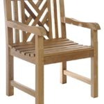 Teak Chippendale Chair made by Chic Teak